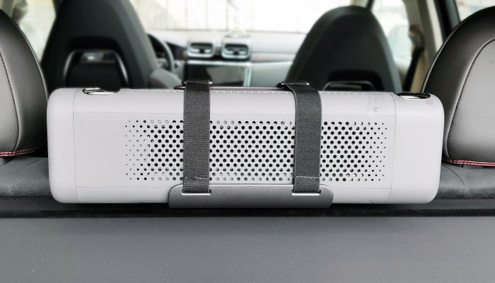 Xiaomi PM2.5 Car Air Purifier Installed