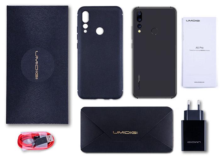 UMiDigi A5 Pro Box Contents