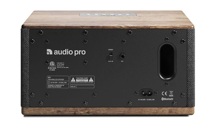 Audio pro BT5 Connectivity