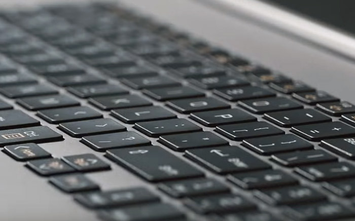 LG Gram 17 Keyboard