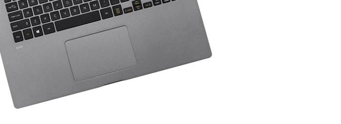LG Gram 17 Touchpad