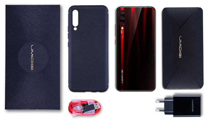 UMiDigi X Box Contents