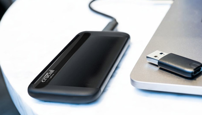 Crucial X8 Tough Portable SSD