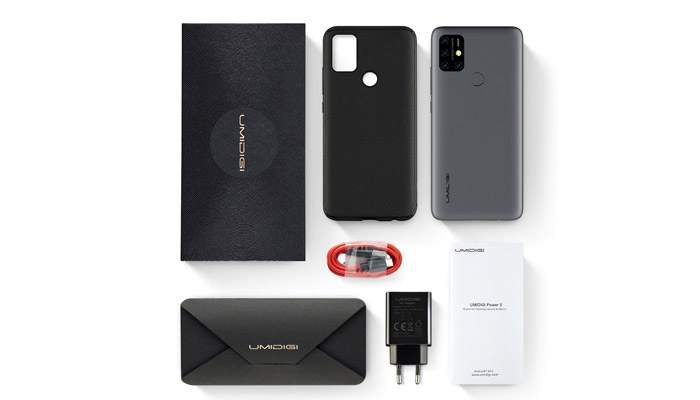 UMiDigi Power 3 Box Contents