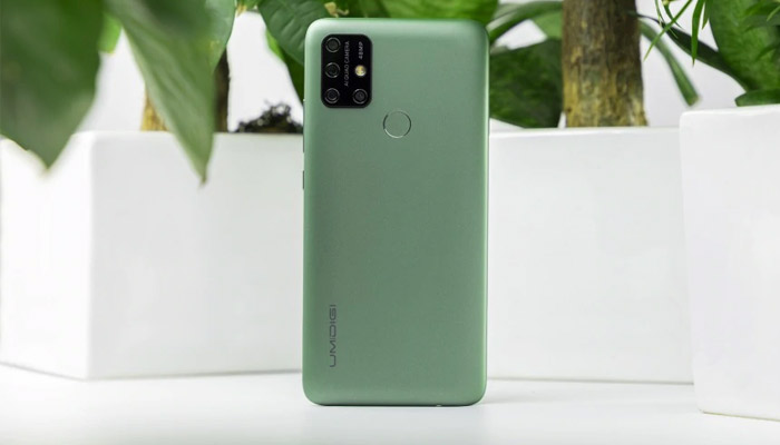 UMiDigi Power 3 Midnight Green