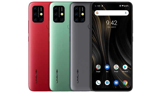 UMiDigi Power 3 Colour Choices