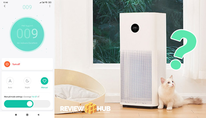 Xiaomi Air Purifier Turns Off
