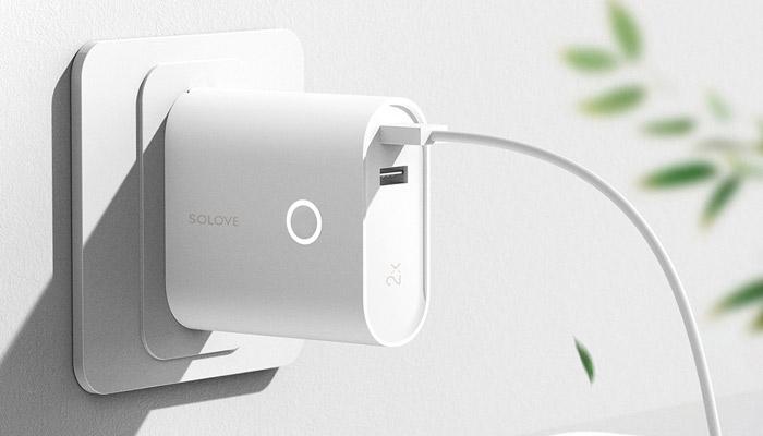 Xiaomi SOLOVE W3 Wall Chargin Mode
