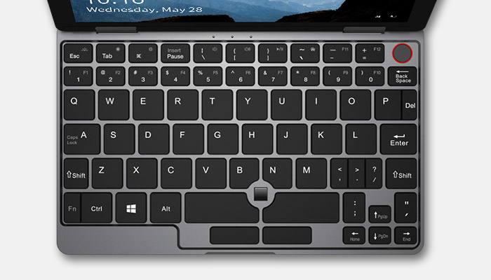 Minobook Keyboard Layout