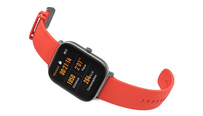 GTS Aluminium Grey Watch