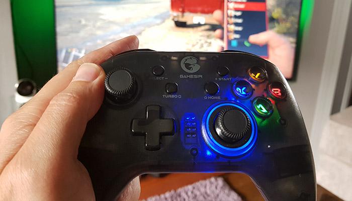 GameSir T4 Pro LEDs
