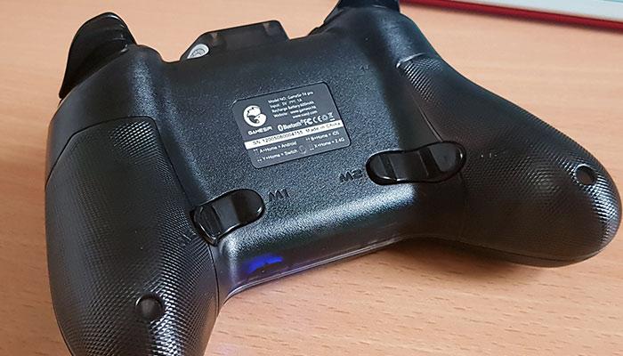 GameSir T4 Pro Extra Buttons