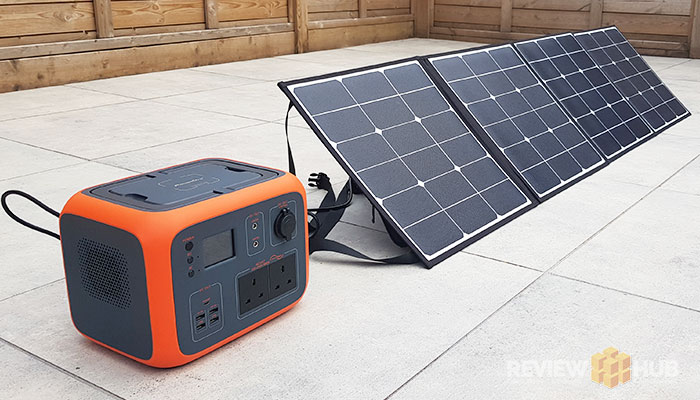 Poweroak AC50 Portable Generator + 120w Solar Panel Review (9/10)