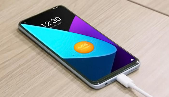 Realme 7 Pro Display Charging