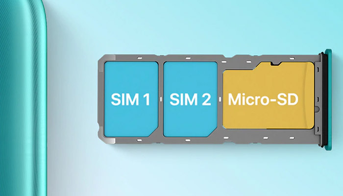UMiDigi A7s SIM TRay
