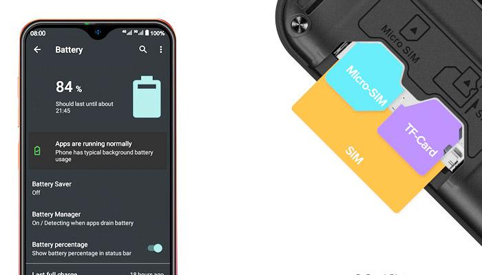 Ulefone Note 8P Battery