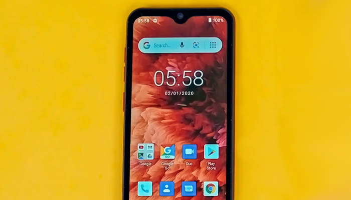 Ulefone Note 8P Display